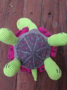 Amigurumi Kaplumbağa Yapılışı 34