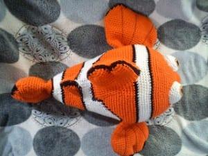Amigurumi Kayıp Balık Nemo Açıklamalı Modeli 1