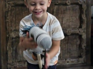 Çocuklar İçin Çoraptan At Yapılışı 35