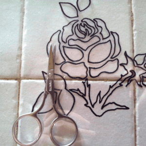DIY Stencil Şablon Yapılışı