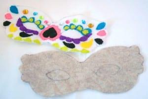 Keçe Maske Nasıl Yapılır ? 10
