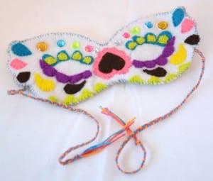 Keçe Maske Nasıl Yapılır ? 16