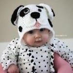 Kulakları Örten Dalmaçyalı Köpek Şapka Yapılışı 1