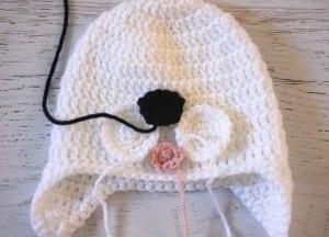 Kulakları Örten Dalmaçyalı Köpek Şapka Yapılışı 3