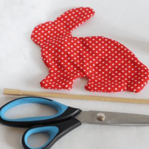 Kumaş Oyuncak Tavşan Yapılışı 1