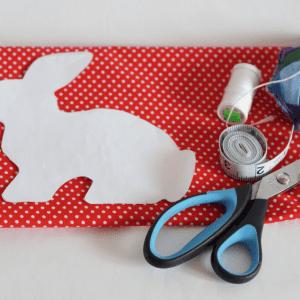 Kumaş Oyuncak Tavşan Yapılışı 2