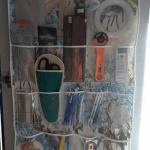 Kumaştan Şeffaf Cepli Organizer Yapılışı 9