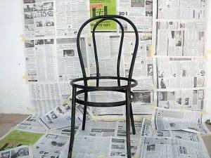 Metal Sandalye Yenileme 3