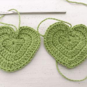 Örgü Kalp Anahtarlık Yapılışı 4