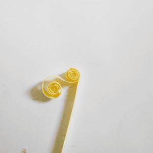 Quilling Çiçek Yapılışı 12