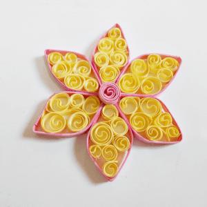Quilling Çiçek Yapılışı 4