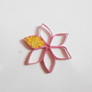Quilling Çiçek Yapılışı 7