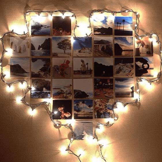 Romantik foto raf er evesi yap l for Cuarto tumblr con luces