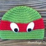 Tığ İşi Ninja Kaplumbağa Şapka Yapılışı 1