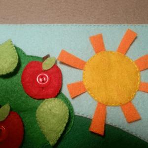 Yaz Temalı Keçe Çalışması 17