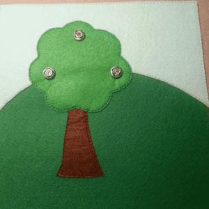 Yaz Temalı Keçe Çalışması 7
