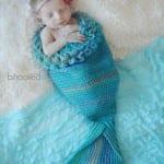 Yeni Doğan Deniz Kızı Kostümü