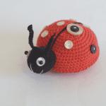Amigurumi Uğur Böceği Yapılışı 6