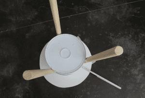 DIY, Eski Boya Kovasından Sehpa Yapılışı 11