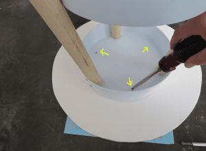 DIY, Eski Boya Kovasından Sehpa Yapılışı 13