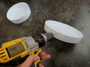 DIY, Eski Boya Kovasından Sehpa Yapılışı 5