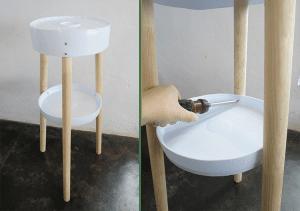 DIY, Eski Boya Kovasından Sehpa Yapılışı 7