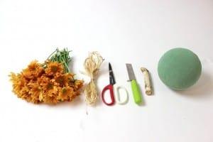 DIY, Top Çiçek Düzenleme