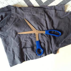 Eski Tişörtten Penye İp Yapılışı 18