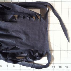 Eski Tişörtten Penye İp Yapılışı 23