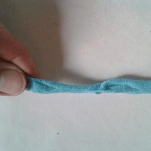 Eski Tişörtten Penye İp Yapılışı 29