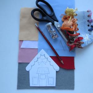 Keçe Ev Yapılışı 4