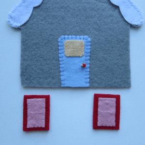 Keçe Ev Yapılışı 5
