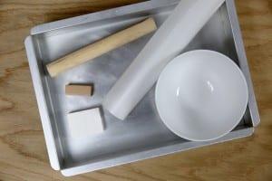 Polimer Kil İle Dekoratif Tabak Yapılışı 1
