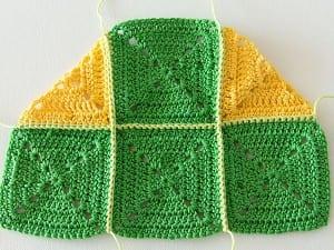 Renkli Bebek Battaniyesi Yapılışı 9