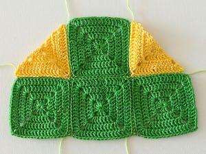 Renkli Bebek Battaniyesi Yapılışı 10