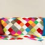 Renkli Bebek Battaniyesi Yapılışı 1