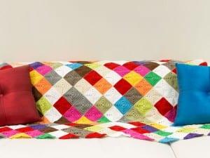 Renkli Bebek Battaniyesi Yapılışı