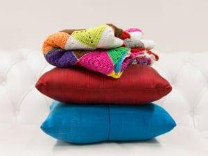 Renkli Bebek Battaniyesi Yapılışı 2