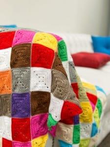 Renkli Bebek Battaniyesi Yapılışı 3