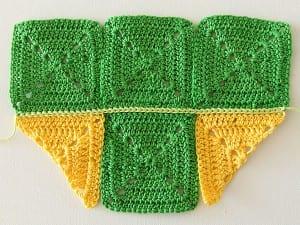 Renkli Bebek Battaniyesi Yapılışı 6