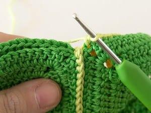 Renkli Bebek Battaniyesi Yapılışı 7