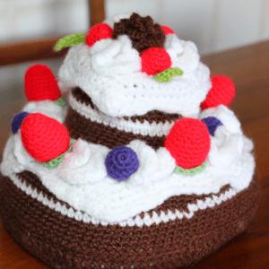 Amigurumi Pasta Yapılışı 18