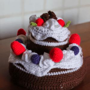 Amigurumi Pasta Yapılışı 24