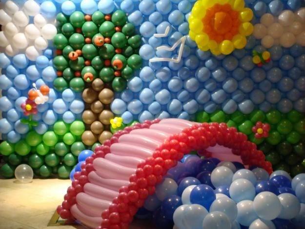 Balon Süsleme Modelleri 36