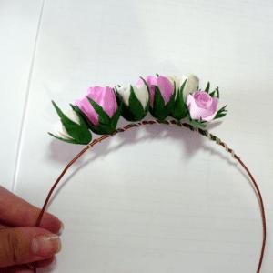 DIY, Çiçekli Taç Yapılışı