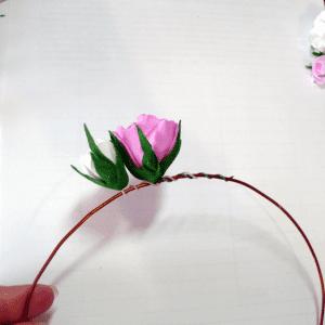 DIY, Çiçekli Taç Yapılışı 4