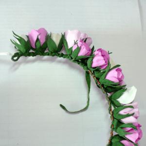 DIY, Çiçekli Taç Yapılışı 6