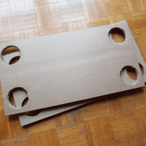DIY, Karton Kutudan Masa Yapılışı 9