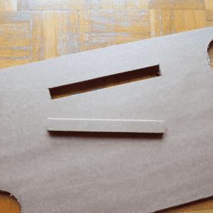 DIY, Karton Kutudan Masa Yapılışı 13