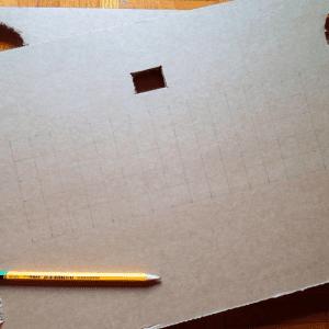 DIY, Karton Kutudan Masa Yapılışı 14